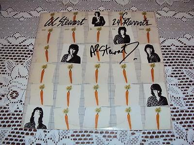 """Al Stewart Signed Autographed LP Record """"24 Carrots"""" With PROOF + COA"""