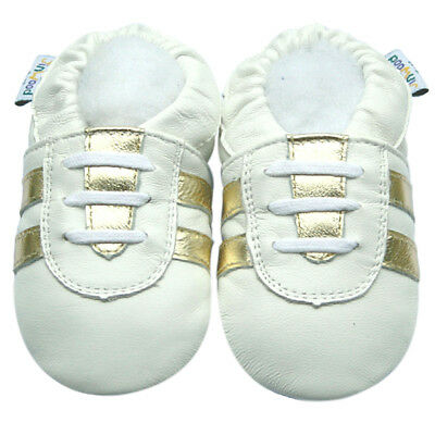 Littleoneshoes SoftSole Leather Baby Infant Children MonkeyBeige Shoes 18-24M