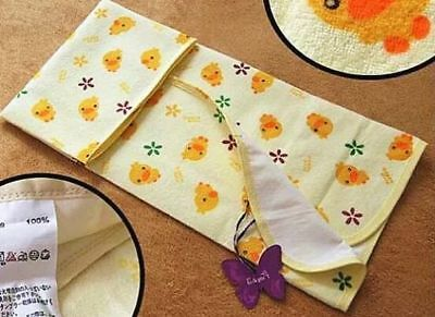 Baby Infant Newborn Changing Mat Burp Pad Cover Waterproof Sheet 70x60cm M