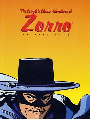 The Complete Classic Adventures of Zorro No,1 by Alex Toth NM 1999 Image