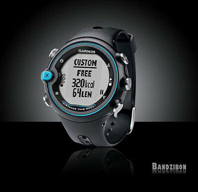 Garmin Swim Men Watch Waterproof Lap Counter Distance Speed Sport Fitness Pool