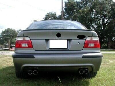 BMW E39 5 Series Saloon Rear Boot Trunk Spoiler Lip Wing Sport Trim Lid M5 M