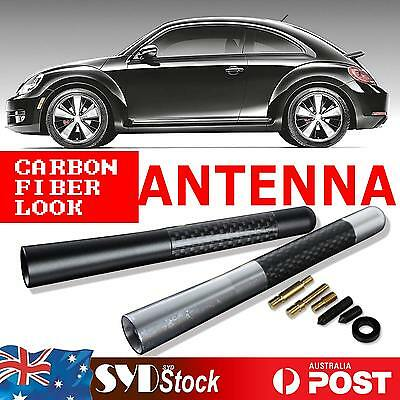Car Antenna Stubby Bee Sting Short 4.7 Inch Carbon Fiber For Holden Commodore VE