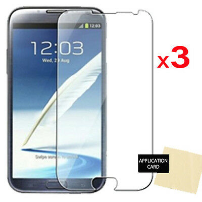 3 x Screen Protector for Samsung Galaxy Note 2 / N7100 N7105