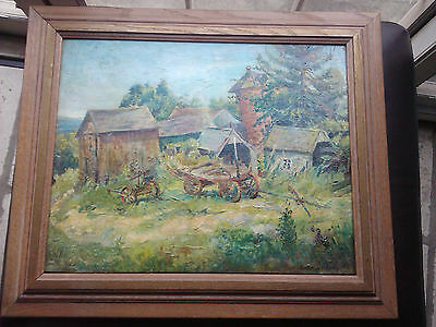 Nice oil painting by well known artist Antonio Barone (1889 - 1971)