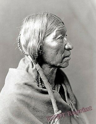 Photograph of a American Cheyenne Indian Year 1910  8x10