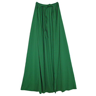 "48"" Green Cape ~ HALLOWEEN SUPERHERO, WIZARD, MAGICIAN, WITCH COSTUME DRESS UP"