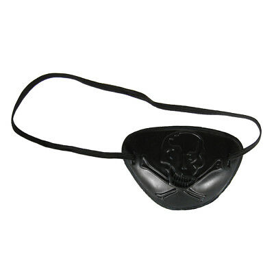 See Through Skull Pirate Eye Patch Costume Accessory ~ HALLOWEEN PARTY NOVELTY