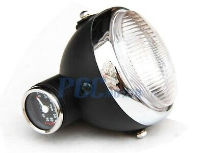 Honda Monkey Z50 Z50J Headlight Light W/ Speedometer Front Black I Lt35