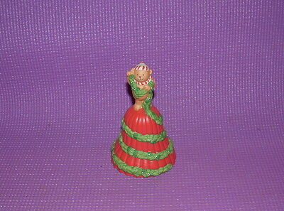 Avon Vintage Garland of Greetings Christmas  bell 1991