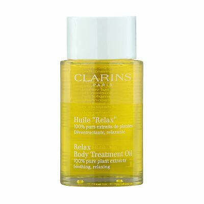 Clarins Body Treatment Oil (Soothing & Relaxing) 3.4oz, 100ml Massage Oil