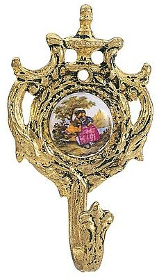 Curtain Tie Back Hook - Small Plaque
