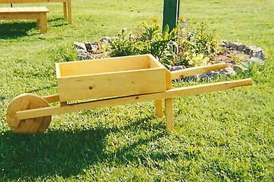 Wooden wheelbarrow planter,lawn and garden furniture,handcrafted,great gift idea