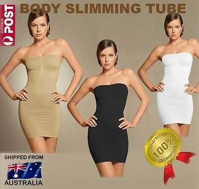 BODY SLIMMING TUBE - Shapewear Corset Tummy Trimmer Shaper  Smoother Slim Suit