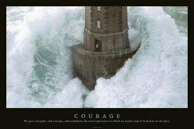 Courage  Großes Poster 92x61 cm