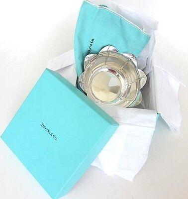 Tiffany Sterling Silver Lotus Petal Serving Bowl with Tiffany Box & Bag,6 Toz