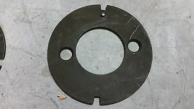 """ONE 8"""" Super Spacer dividing head Masking Plate 2 notch"""