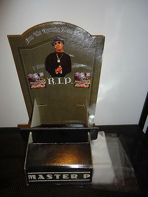 MASTER P counter display for Ghetto D cd. Hard to find collectible for the P fan