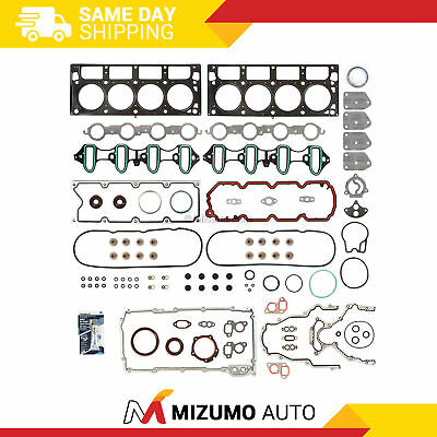 "Fit Chevrolet GMC Buick Cadillac 4.8 & 5.3L OHV MLS Full Gasket Set ""C, M, P, T"""