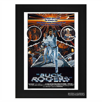 BUCK ROGERS IN THE 25TH CENTURY Framed Film Movie Poster A4 Black Frame