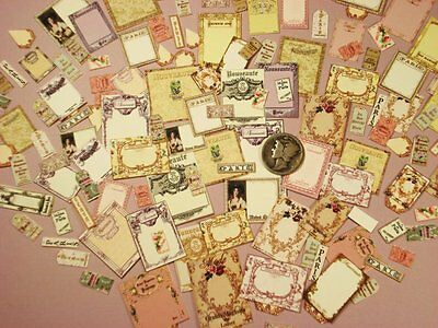 MINI 1:12scale FRENCH STYLE PRESENTATION CARDS-OVER 200PCS.NEW!!KIT-11