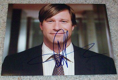 AARON ECKHART SIGNED THANK YOU FOR SMOKING 8x10 PHOTO B w/PROOF AUTOGRAPH
