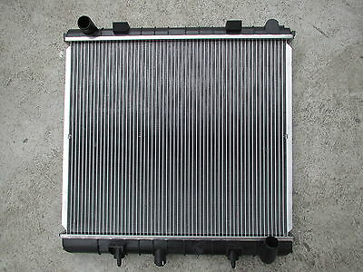 New Radiator Landrover Range Rover  P38A Inlet L/side H/duty With Reinforcement