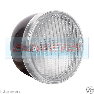 12V24V Universal Rear Round Hamburger Reverse Lamp Light Kitcar/Caravan/Trailer