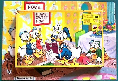 COMPLETE VINTAGE 1960s JAYMAR PUZZLE with BOX - Donald's HOME SWEET HOME  J315