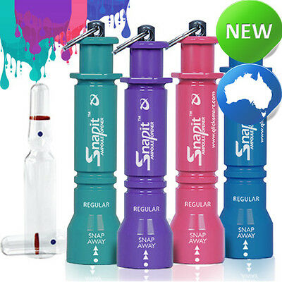 Snapit Lite - 4 Pack - Mixed Colours (Ampoule Opener | Glass Vials)