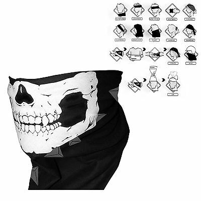 13 in 1 Wind Proof Winter Cycle Biker Gaitor Neck Mask Snood Skull Scarf W080