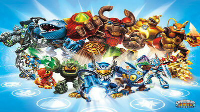 Skylander 2  Edible Icing Party Cake Topper Decoration Image Custom