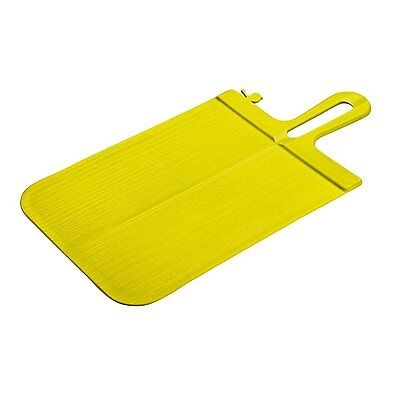 Koziol Cutting Board Snap Folding Creative Designer Kitchen Unique Mustard Green