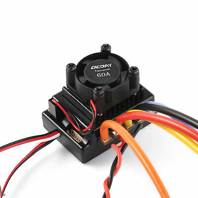 OCDAY Sense/No Sense Brushless Motor & 60A ESC for 1/10 RC Car Truck Off-road