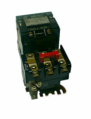 Square D 8536Sc03 Size 1 Motor Starter With 120 V Coil (M2 & N2)