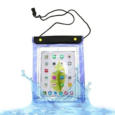 "WATERPROOF CASE COVER  WITH NECK STRAP FOR APPLE IPAD 1/2/3/4/Air/Pro 9.7"" 10."