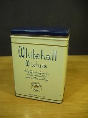 vintage Whitehall Mixture Smoking tobacco lthograph tin -  MAKE US AN OFFER