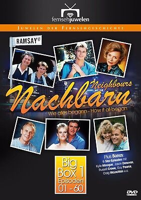 Nachbarn / Neighbours - Big Box 1 (66 Folgen) mit Kylie Minogue & Jason Donovan