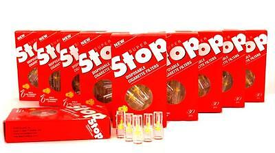 Super Stop Cigarette Holders Filters 10 packs 300 filters CUT THE TAR