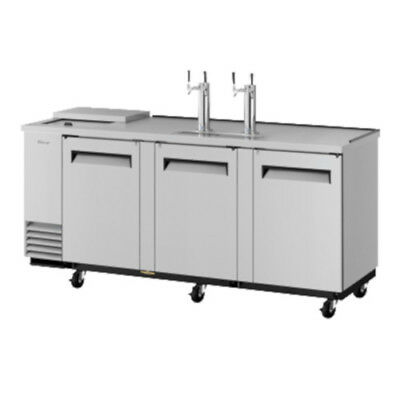 Turbo Air TCB-4SD Stainless Direct Draw Club Top Draft Beer Dispenser Cooler
