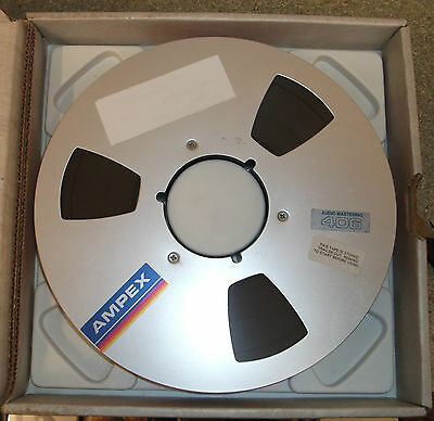 Ampex 406 Reel-to-Reel 1 Inch Tape. Used Once and Wiped.