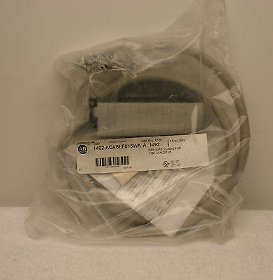 Allen Bradley Cable 1492-ACABLE015WA  *NEW in Bag*