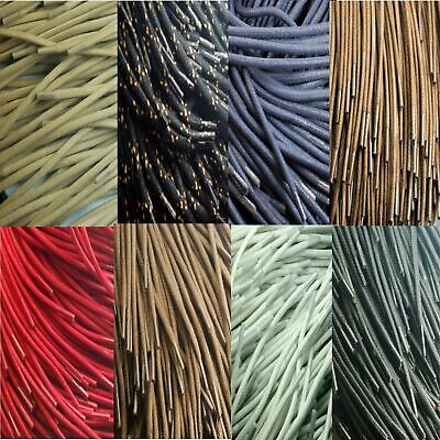 TZ Laces® Round Cord Waxed 3 to 4mm shoe laces Hiking Walking Work Boots