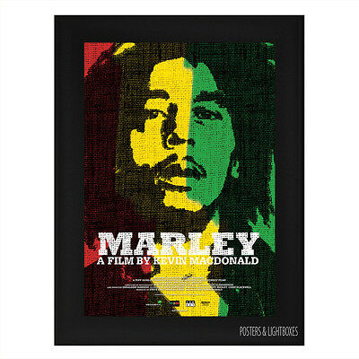 MARLEY Framed Film Movie Poster A4 Black Frame