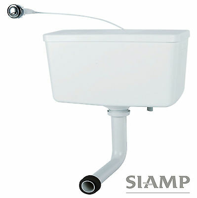 Siamp Trueflo Concealed Hideaway Back To Wall Toilet Cistern & Dual Flush Button