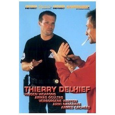 Hidden Weapons professional self defense by Thierry Delhief DVD DEL3