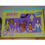 "SCOOBY DOO and FRIENDS SET ACTION FIGURES  Super Bendable  5-6""   9 Pieces"