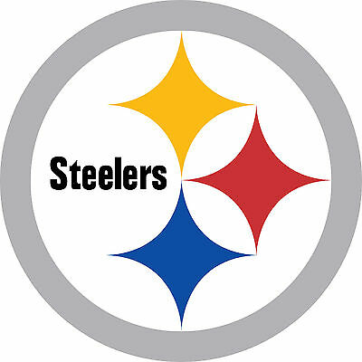 "Pittsburgh Steelers Football Car Truck (2) 12"" x 12""  Sticker Decal Pa Corn Hole"
