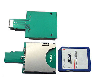 Sintech SDHC/SD card to micro SD TF extender adapter card for mobile phone