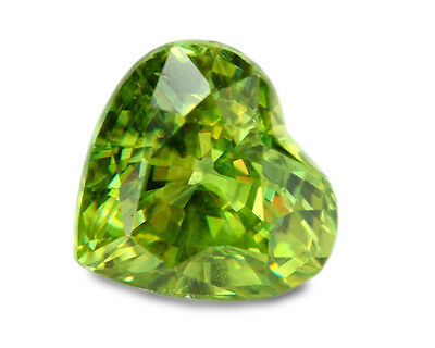1.40 Carats Natural Sphene Gemstone - Heart